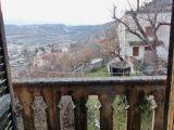 vista dal balcone della cameretta